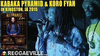 Kabaka Pyramid & Koro Fyah | LIVE in Kingston, Jamaica @Skyline Levels [January 24th 2015]