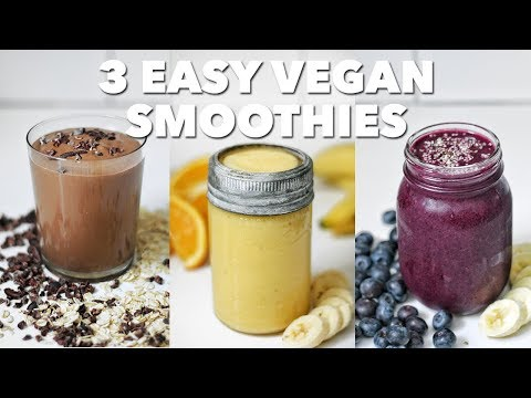 3 Easy Vegan Smoothies | Two Market Girls