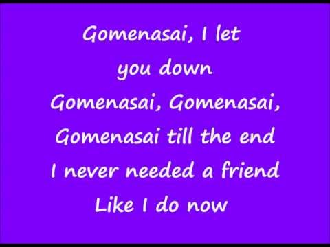 t.A.T.u - Gomenasai LYRICS