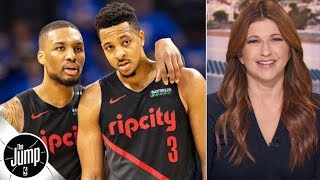 No matter what, the Blazers always react -- just look at Game 2 vs. the Nuggets | The Jump