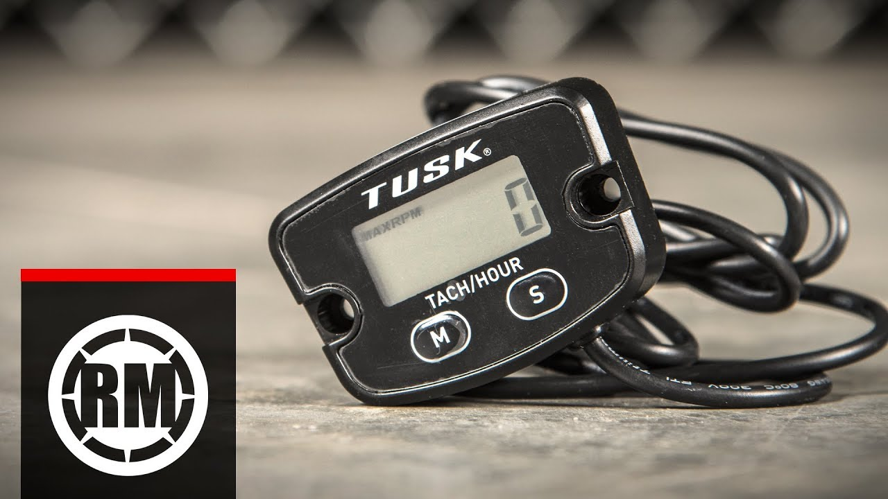 How To Install A Tusk Tach  Hour Meter On A Dirt Bike