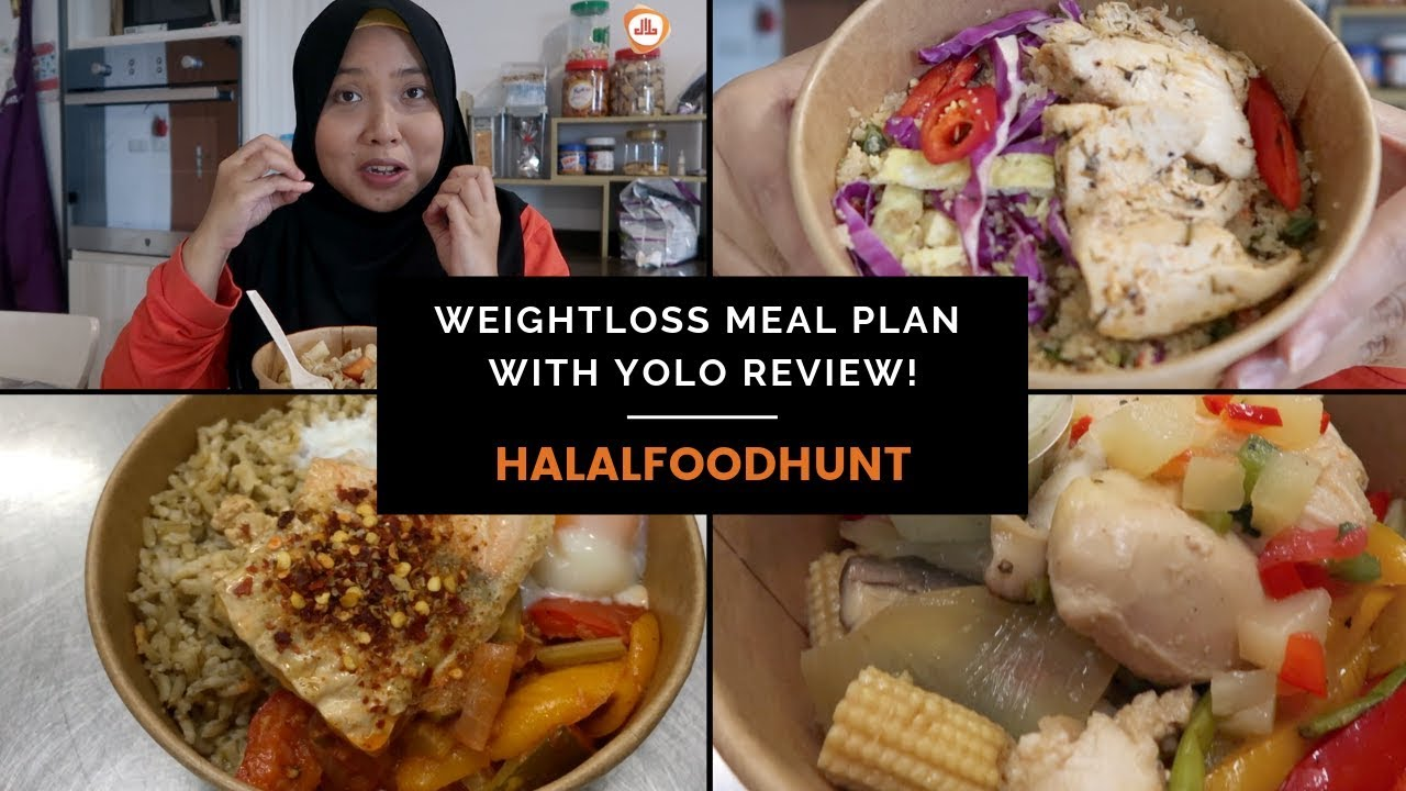 Eat Good Food While Losing Weight Yolo S Latest Halal Meal Plan Review Youtube