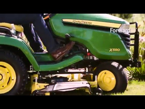 John Deere Lawn Tractor with 54-inch Deck X390 | SEMA Equipment
