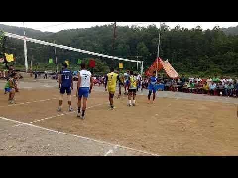 VOLLEYBALL MATCH!! DOGRA REGIMENT VS PUNJAB