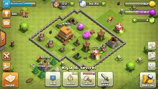 Clash of clans köyüm güzelmi savaşta yaptım