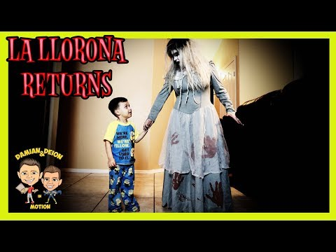 LA LLORONA RETURNS - SHORT FILM | SCARY WEEPING WOMAN | D&D SQUAD BATTLES