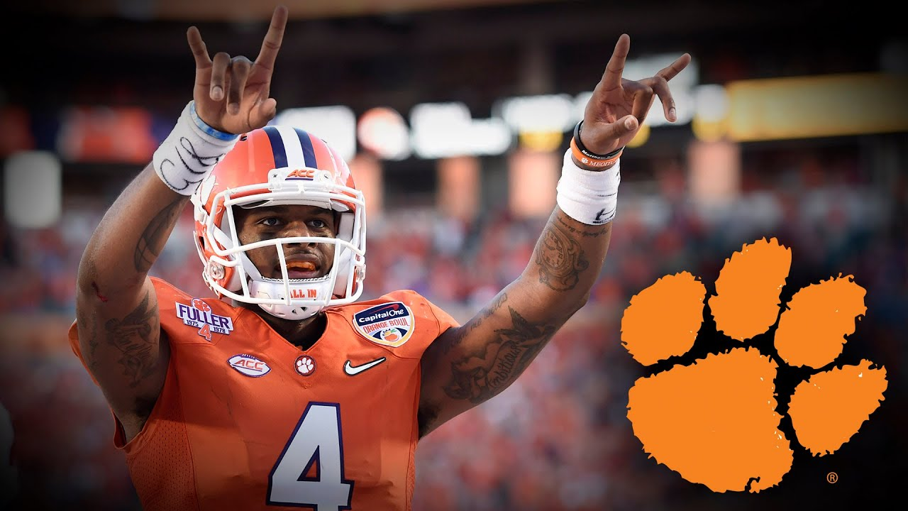 Clemson Football Hype Video Steps To A National Championship Youtube