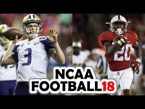 Washington @ Stanford - 11-10-17 NCAA Football Week 11 Simulation (UPDATED ROSTERS)