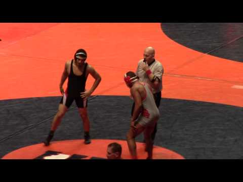 Harrison Williams vs Javier Soto State Championships 2014