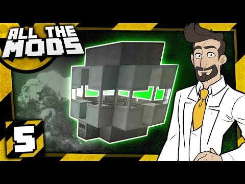 Minecraft All The Mods Nuclear #5 - Fission Reactor! thumbnail