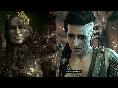 How Queen Reyna Mother Of Kait Turned Evil - Gears 5