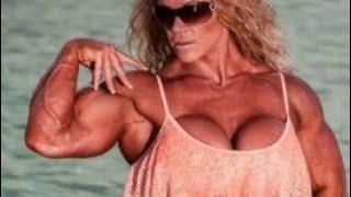 Huge Fbb Arms Female Bodybuilders Huge Legs Best Abs Shreeded Girls Women Bodybuilding