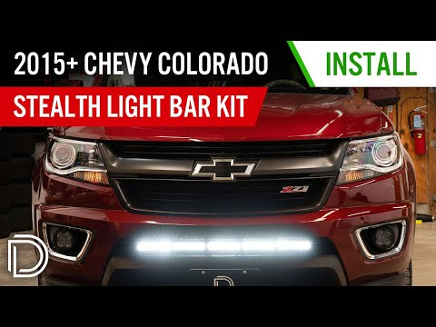 How to Install 2015-2020 Chevy Colorado Stealth Light Bar Kit  | Diode Dynamics