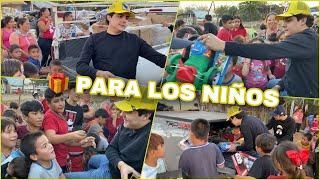 LES DOY REGALOS A LOS NIÑOS | MARKITOS TOYS