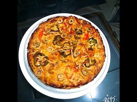 صورة  طريقة عمل البيتزا طريقه عمل بيتزا اقتصاديه سريعه 🍕🍕🍕🍕🍕[بطه يوسف] طريقة عمل البيتزا من يوتيوب