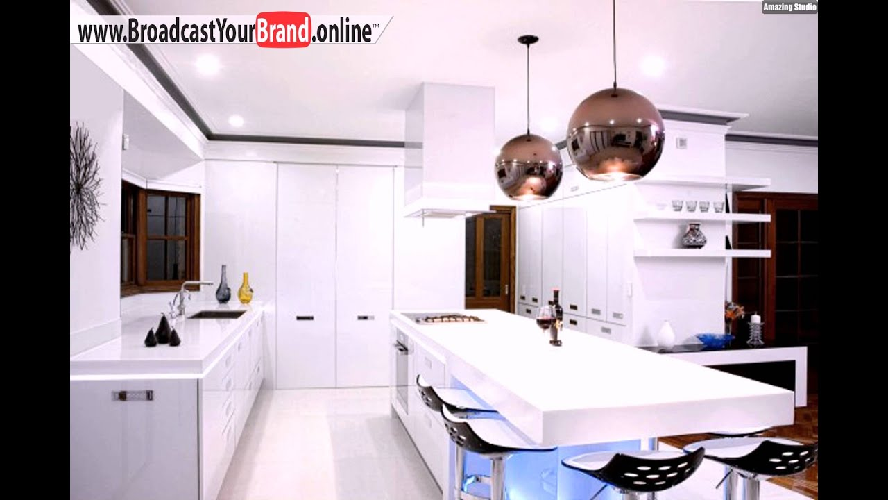 wei es interieur ideen f r led k chen beleuchtung youtube. Black Bedroom Furniture Sets. Home Design Ideas
