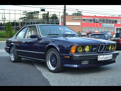 1988 BMW E24 M6  Restoration  BMW Excluservice  YouTube