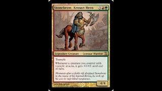 Deck #125   Stonebrow, Tribal Centaurs