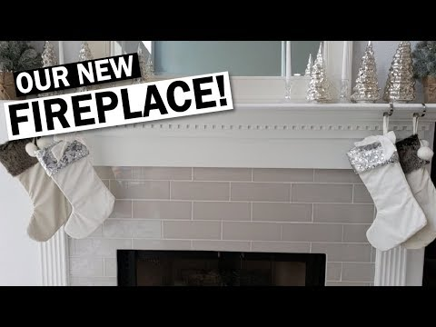 Fireplace Remodel Before And After- Small Change, Big Difference!