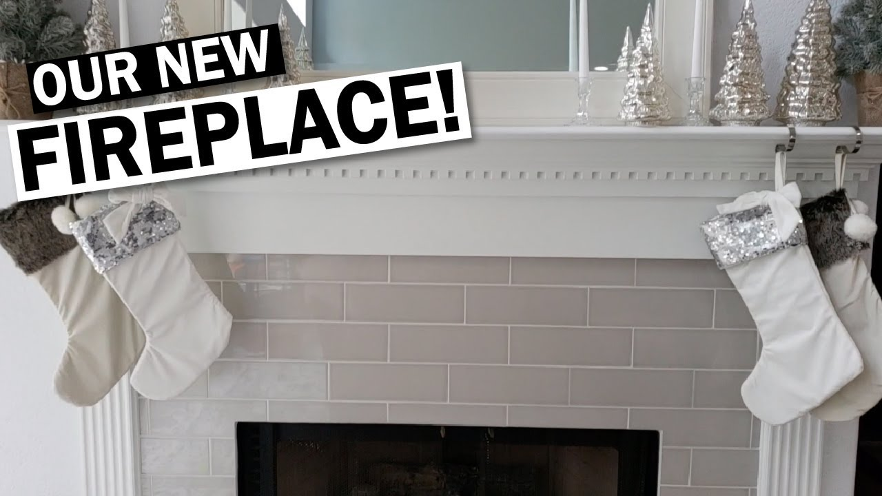 Fireplace Remodel Before And After Small Change Difference