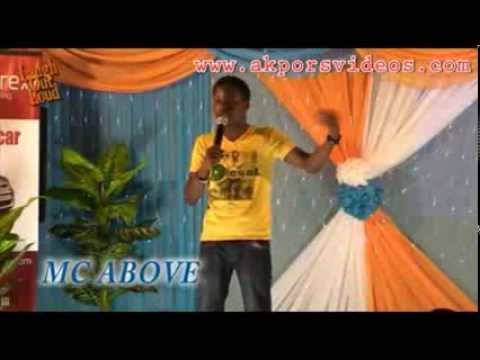 MC Above in Laugh Out Loud Comedy Series 14
