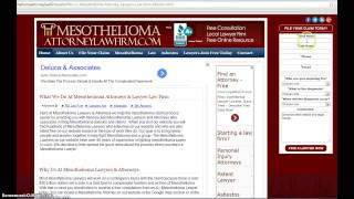 File Your Mesothelioma Claim Online