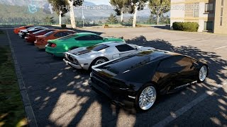 Forza Horizon 2 (XB1) | Street Monster Meet Pt.2 | UR Twin Turbo Huracan vs 800-1500HP Cars
