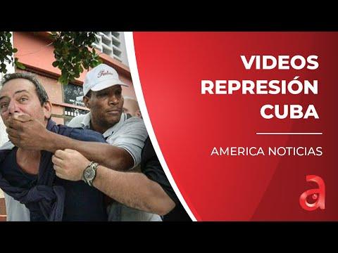 Continúan saliendo nuevos videos de la brutal represión en las protestas en Cuba