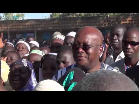 Kabore wins presidential election in Burkina Faso