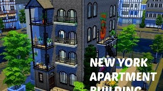 The Sims 4 House Building - New York Apartment