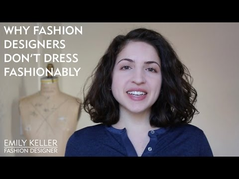 Why Fashion Designers Don't Dress Fashionably