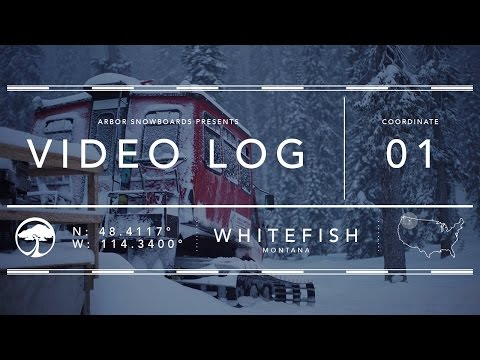Arbor Snowboards :: Video Log - Whitefish