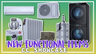 NEW FUNCTIONAL ITEMS - The Sims 4 CC Showcase