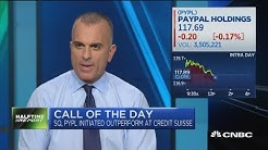 PayPal & Square upgraded at Credit Suisse