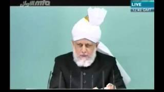 L'adoration réelle d'Allah - Sermon du 26 août 2011