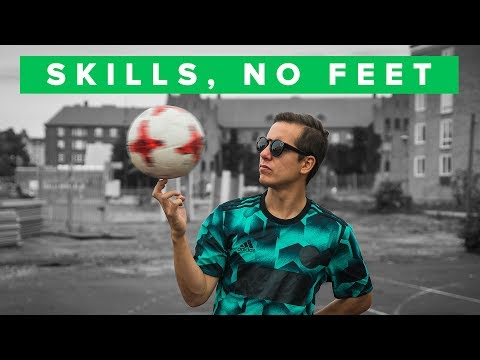 Thumbnail: Top 5 football skills without using your feet!