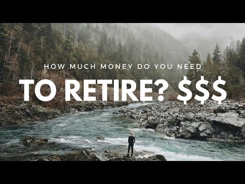 How Much Money Do You Need to Retire? The x25 & 4% Rule