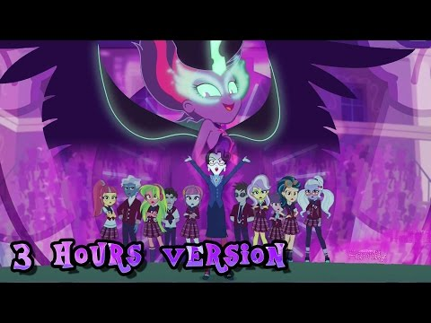 """MLP:EQG - """"Unleash The Magic"""" (3 hours extended version)(HQ)"""