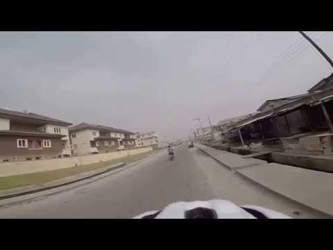 Cycling around Lagos, Nigeria -  3