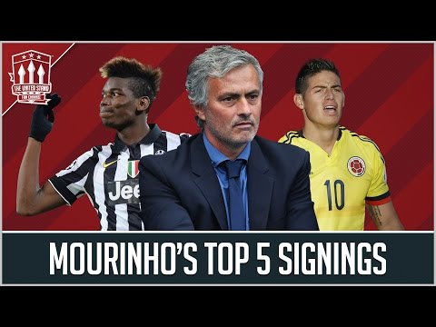 Jose Mourinho's TOP 5 Man Utd Transfer targets