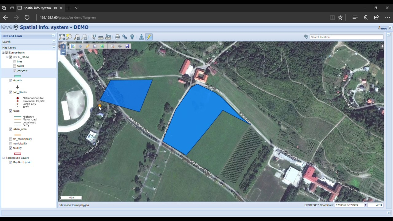 Editor for Extended QGIS Web Client