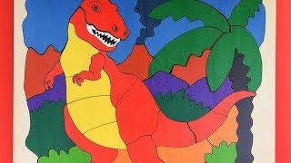 Dinosaur Puzzle for Kids   Tyrannosaurus Rex Puzzle   Dinosaur Toys & Games
