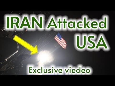 Iran attacked US Airbases Exclusive Video (Iran Retaliate USA)