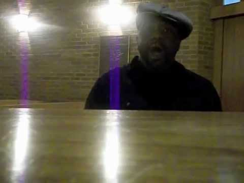 """Marvin Williams sings """"When You Hear of My Homegoing."""""""