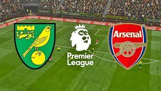 Norwich City vs Arsenal - Highlights - Premier League - Gameplay [PES]