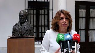 "Susana Díaz critica la ""dejadez"" de la Junta en política de agua pese a su ""importancia vital"""