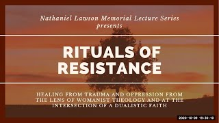 """Rituals of Resistance"" - Rev. Kwame Pitts - The First Lawson Lecture in Black Lutheran Theology"