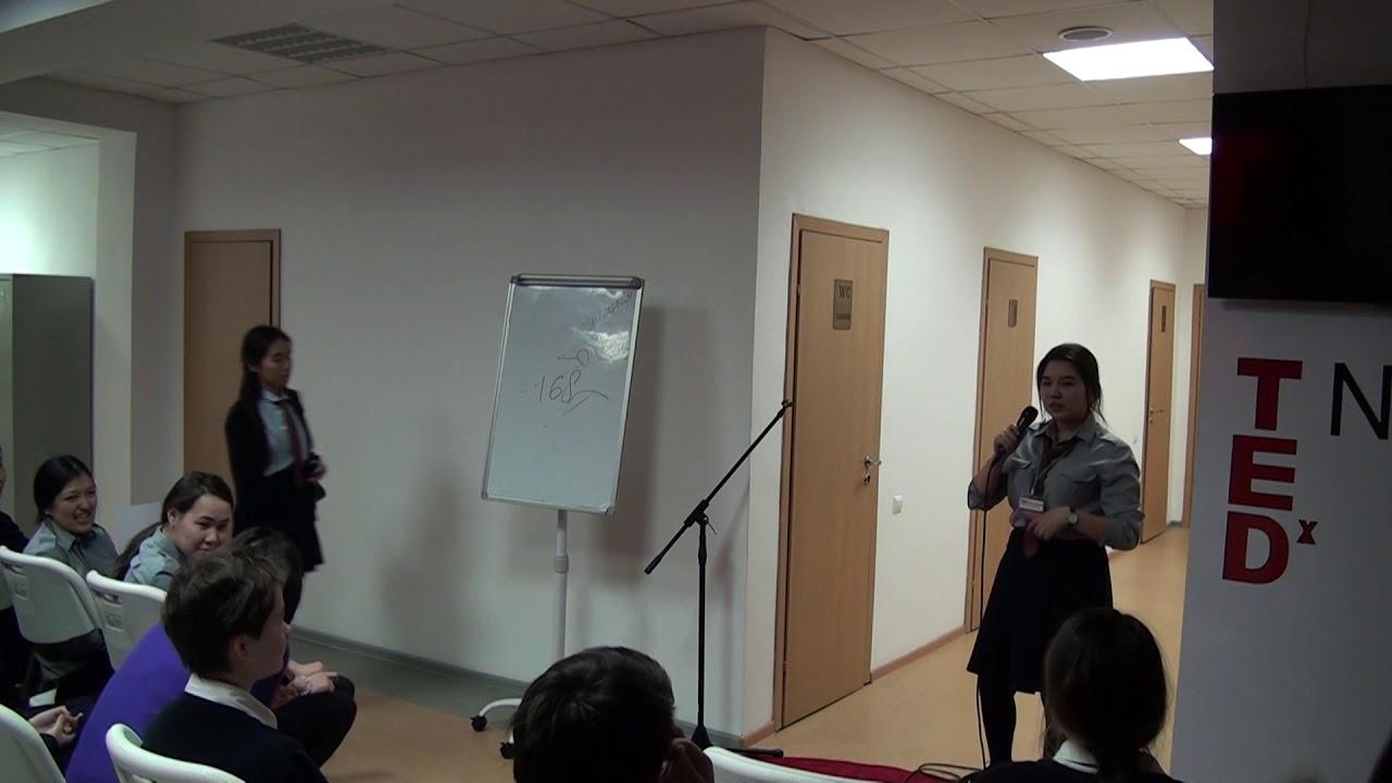 Karatay Aigerim: Design thinking. TEDx NIS Pavlodar (Russian)