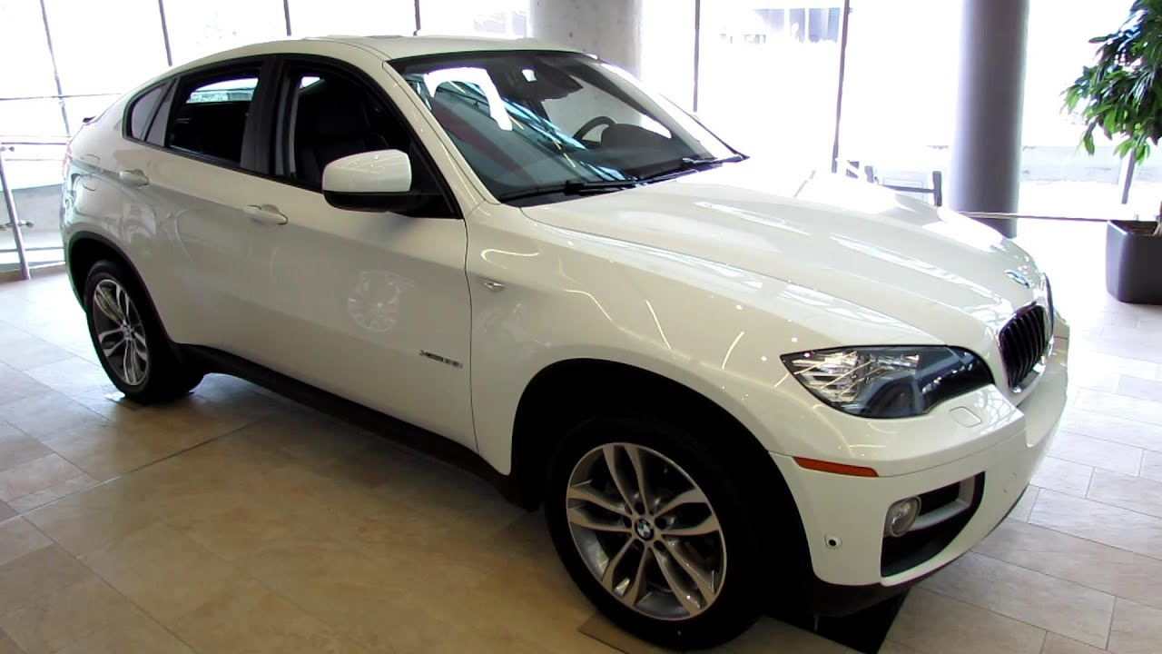 2013 Bmw X6 Xdrive 35i Exterior And Interior Walkaround