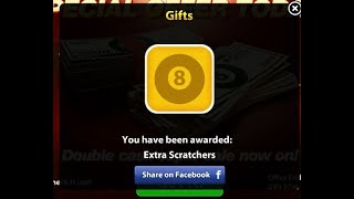 8 Ball Pool Award Links  8 April 2018 ||Scratcher+Spin+coins| Best tips and trick